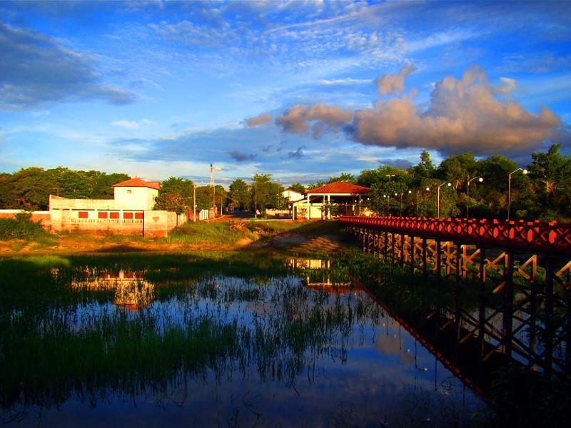 Praia de Alter do Chão - Santarém - Pará - Amazonia - Brasil.