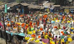 Flower market Kolkatta