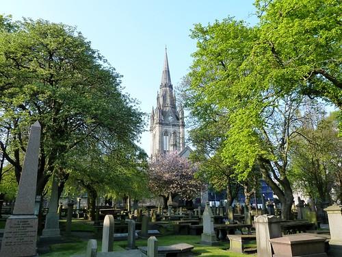 Kirkyard of St. Nicholas, Aberdeen, Scotland