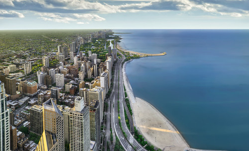 Chicago's Lake Shore Drive 3 - Panorama