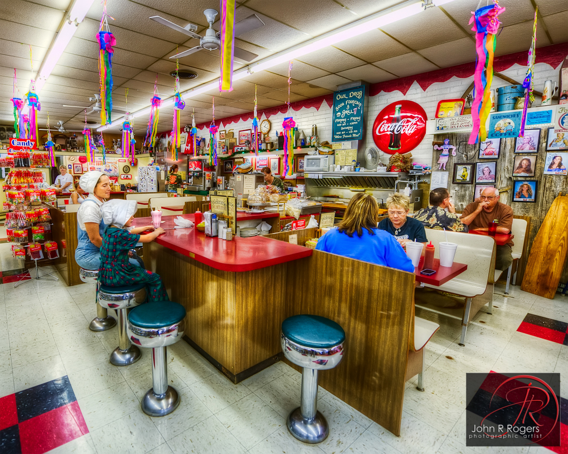 Owl Drug Store, Soda Fountain & Grill; Coleman Texas