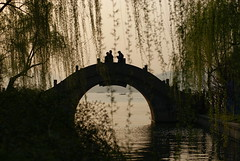 Hangzhou West Lake arched bridge