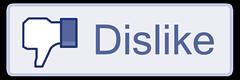 dislike button by Sean MacEntee