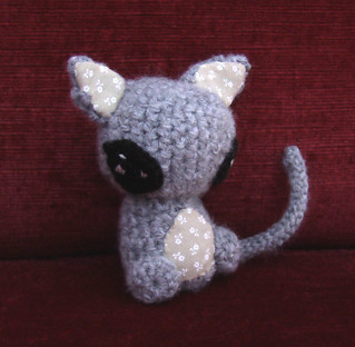 Alien Kitty Amigurumi