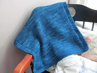 ravelry double knitting blanket february pattern by. Black Bedroom Furniture Sets. Home Design Ideas