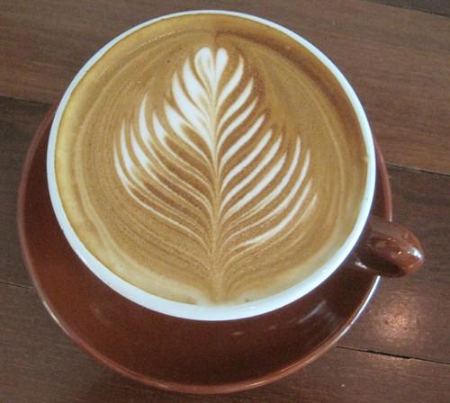 Neptune Coffee Latte Art