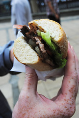 Minute Steak Sandwich in Edinburgh