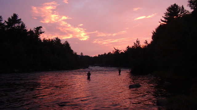 Sunset on The West Branch
