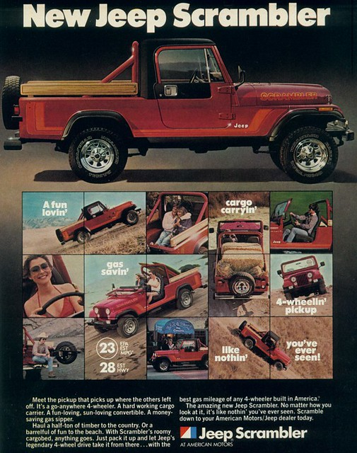 1982 Jeep Scrambler from AMC