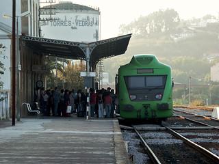 Regional 6413, Estação de Torres Vedras, 2004.09.21
