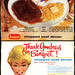 Banquet - Chopped Beef Dinner - TV Dinner box - 1950's 1960's