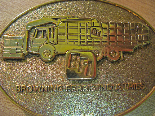 BFI TRASH - VINTAGE BELT BUCKLE