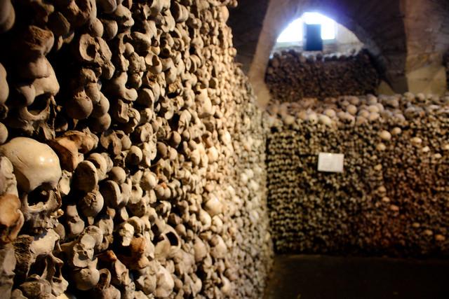 Mělník Bone Chapel. Zámek Mělník. Czech Republic