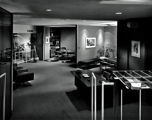 Modern Bank Interior - Ken Johnson 1965