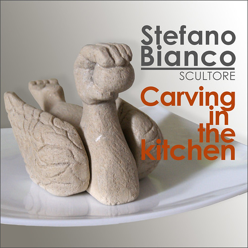 Carving in the kitchen - RECIPE TWO