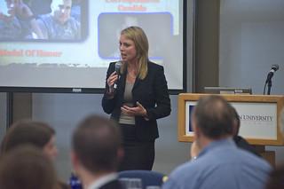 Lara Logan speaks at AU