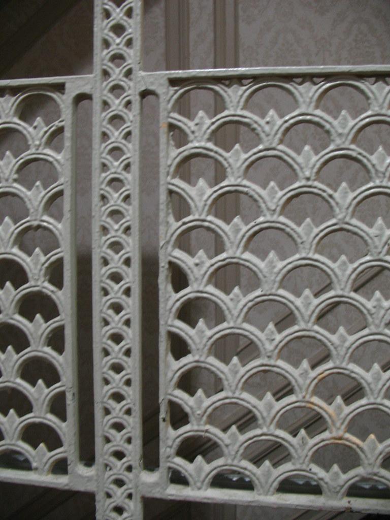 Congress Plaza Hotel - nice iron stair railing