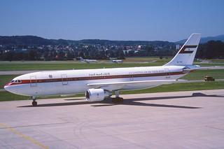 34bo - United Arab Emirates Airbus A300C-620; A6-PFD@ZRH;07.08.1998