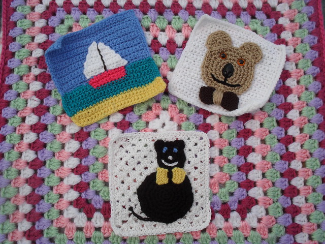 Our Young At Heart Challenge has finished. But I think I will put the cat into the Farmyard Challenge, and the Boat for our 'tropical' theme. The other one I will save for now. Thank you so much 'Jean Nock'. I love them all!