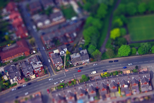 Bolton - tiltshift (Deane Road & Haslam Park)
