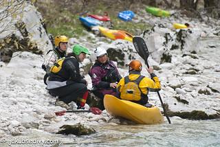 Coaching on the Upper Soča