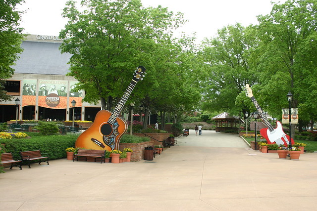 Outside the Grand Ole Opry