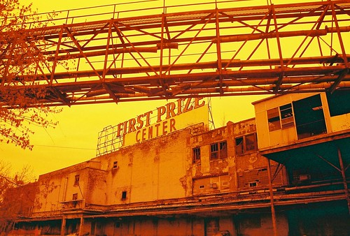 First Prize Center, Albany NY, in Redscale
