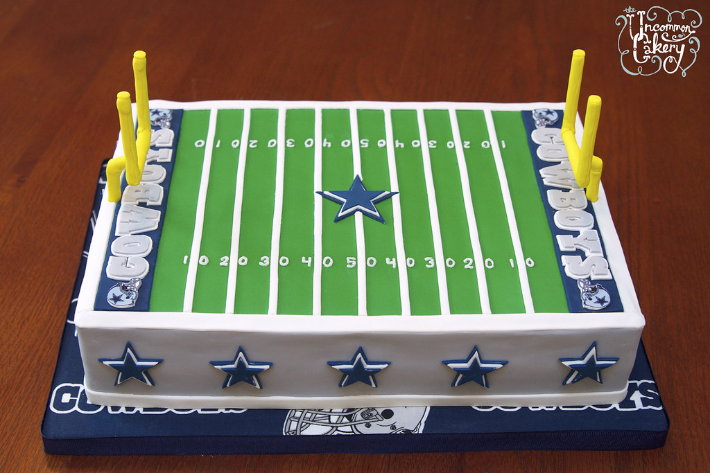 Dallas Cowboys Field Cake A Photo On Flickriver
