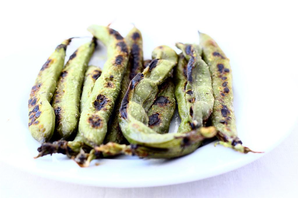 Sauteed Whole Fava Beans