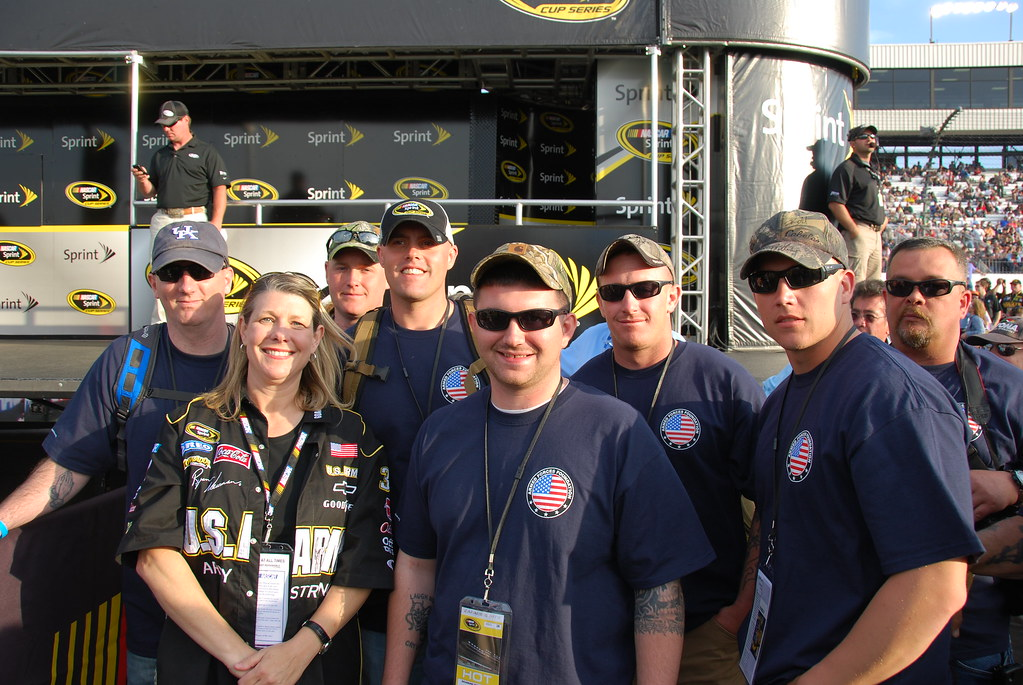 Armed Forces Foundation >> Nascar Richmond 207 Armed Forces Foundation Flickr