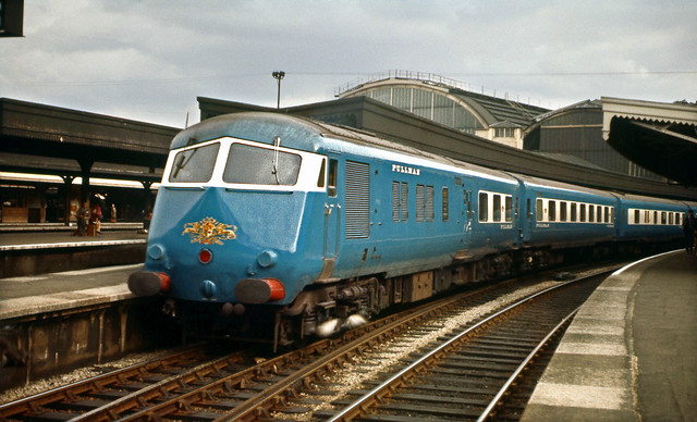 Blue Pullman at Paddington Sep'62.