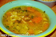 Chicken Vegetable Soup 2