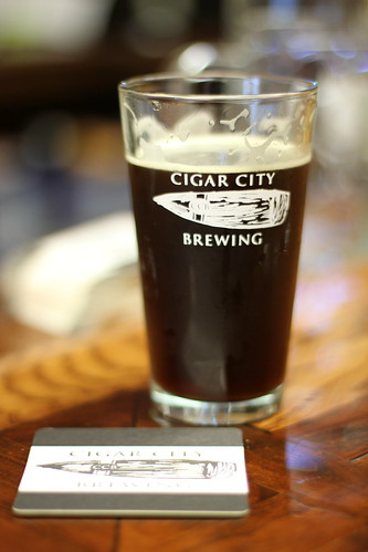 Cigar City Brewery Tampa glass