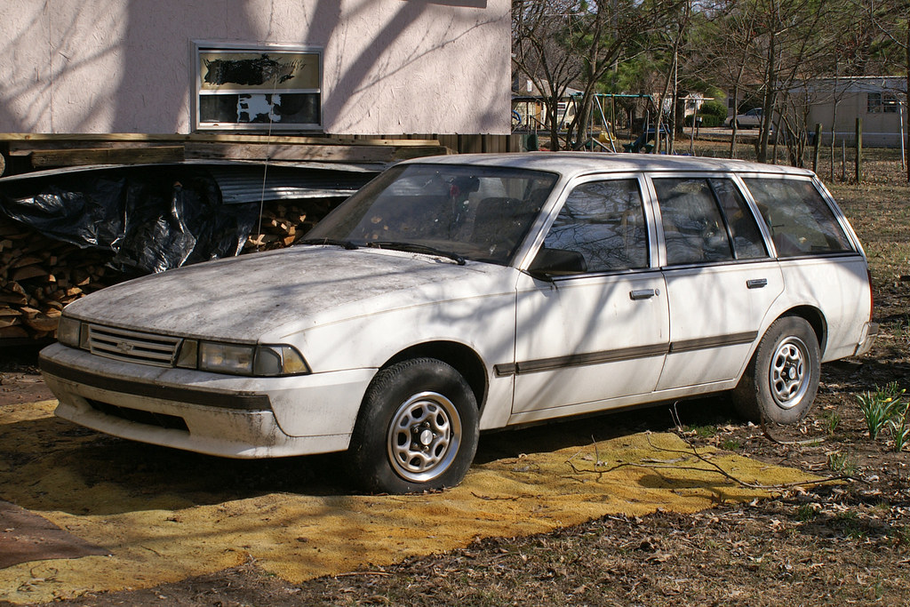 1991 Chevrolet Cavalier Station Wagon - a photo on Flickriver