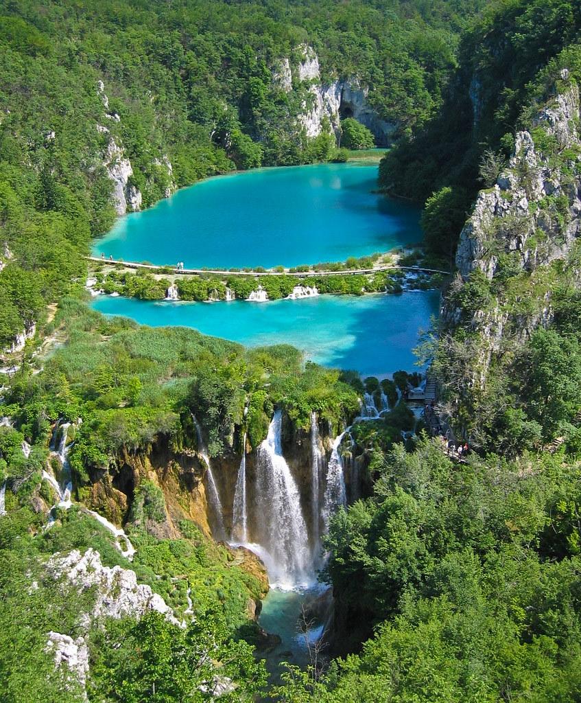 Lagos de plitvice el parque natural m s bonito de europa for Jardines colgantes de babilonia