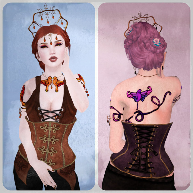 New corset colors from Jackal!