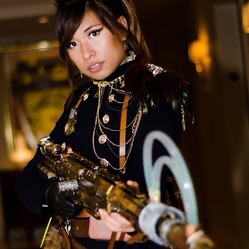 #cosplay #steampunk #hottie