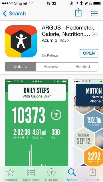 Argus iOS App - AppStore