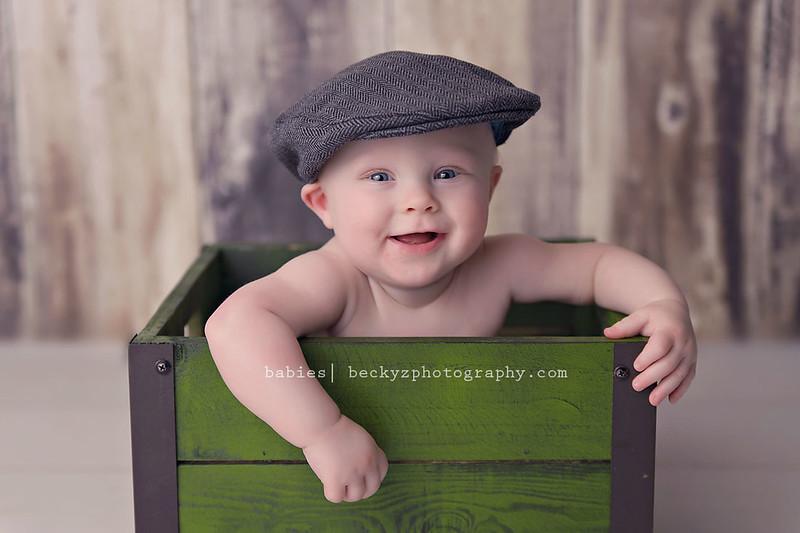 14228689391 7183aba560 c Kycen is 7 Months   Allen Baby Photos