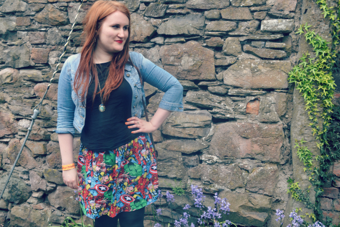 etsy marvel skirt scottish blogger