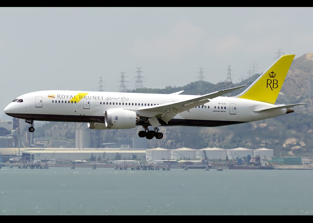 V8-DLB - B788 - Royal Brunei Airlines
