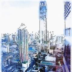 Good Monday Morning Bangkok! Lovely view from Amari Watergate :) @diASIAtourism #DIABKK