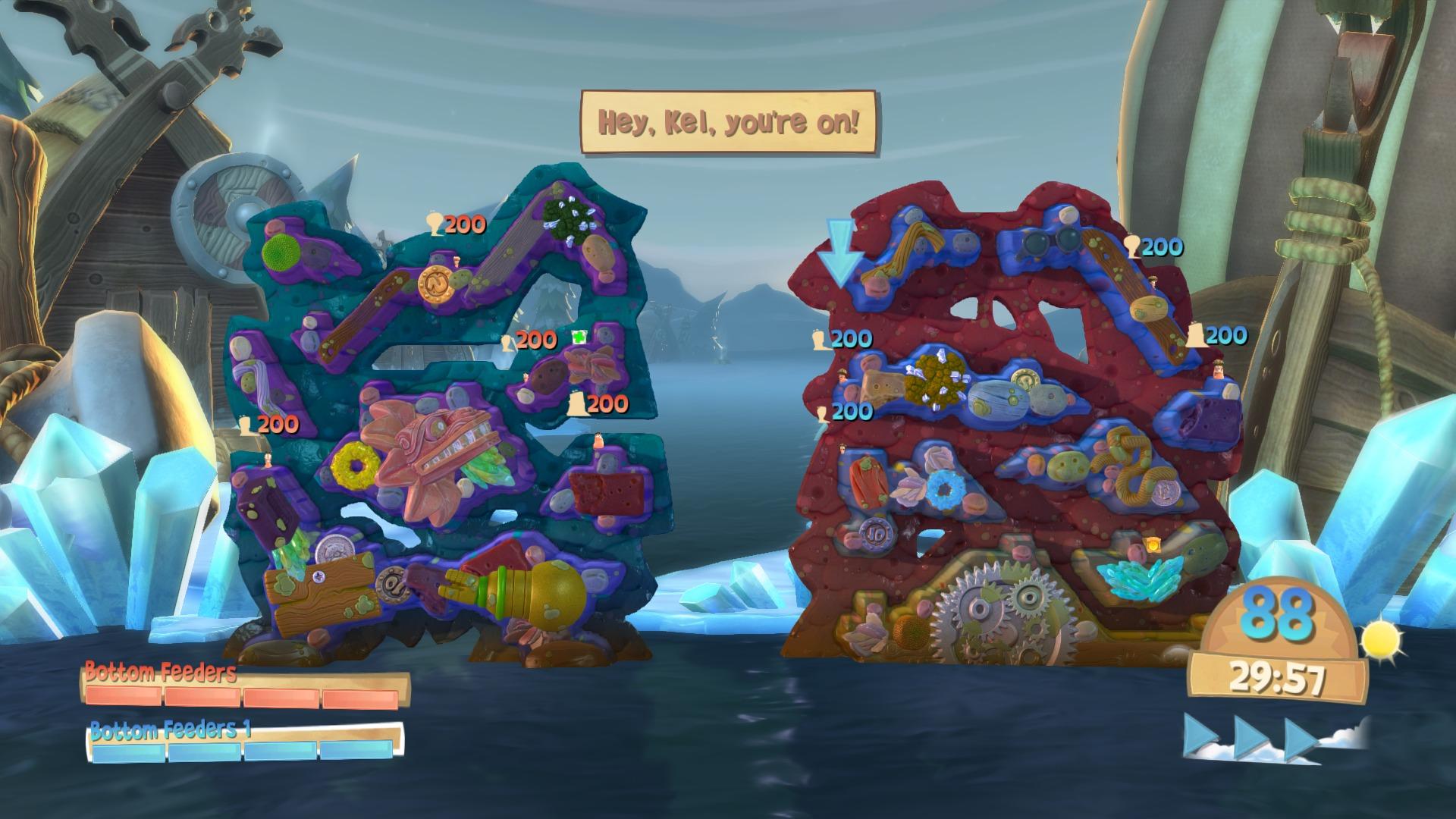 Worms Battlegrounds PS4 3