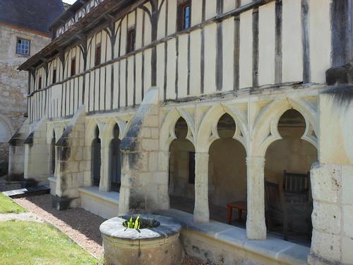 Montoire-sur-le-Loir monastery remains