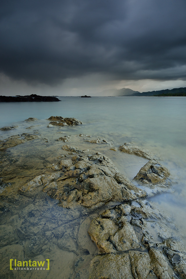 Rain Clouds over Dingalan Bay