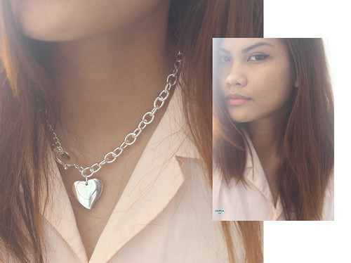 Cheap Silver Heart Necklace