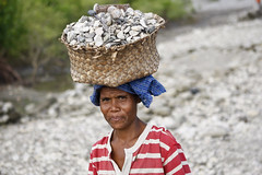 Carrying Stones in Suai Loro, Timor-Leste