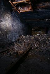 The cart tunnel at Harefield Limeworks.