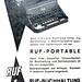 Ruf typewriter ads