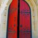 Church Door by AcrylicArtist